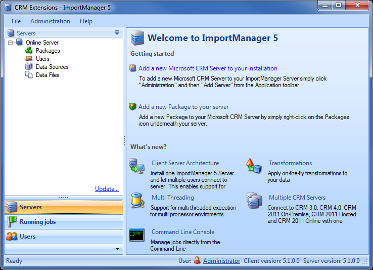 Import Manager Overview